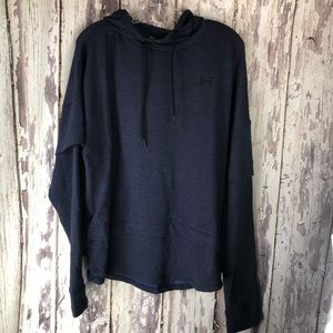 Womens Under Armour Hoodie Loose Fit Pullover XL